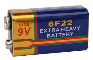 Wholesale torch radio: Extra Long Life Super Heavy Duty Battery 6F22 9V / Carbon Zinc Battery