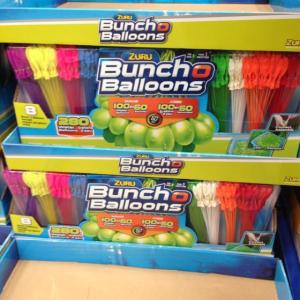 Wholesale balloon: ZURU Bunch O Balloons, Fill in 60 Seconds, 350 Water Balloons, 20 Water Balloon Bowl Included