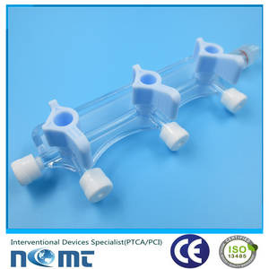 Wholesale stopcock: Medical Plastic Infusion Manifold Three Way Stopcock