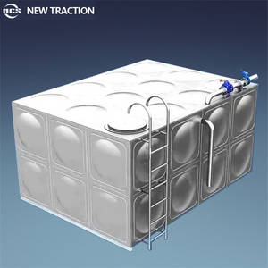 Wholesale water storage tanks: Hot Sale Anti-corrosion Square Type Stainless Steel Water Storage Tank with Good Quality and Low Cos