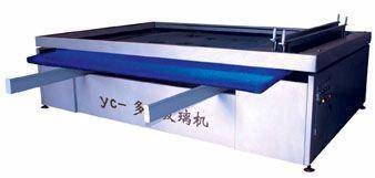 Metal Processing Machinery: Sell Acid Deep Etched Pattern Glass Machine and Glass