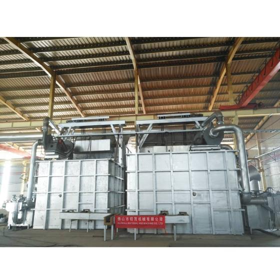 10 Metric Tonnes Aluminium Melting and Holding Furnace with Long Up Times