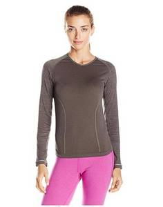 Wholesale thermo: Running Women's Breath Thermo Long Sleeve Seamless Tee