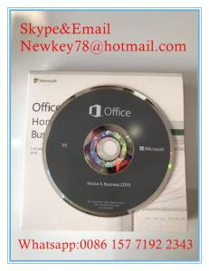 Wholesale business: Wholesale Genuine New Office 2019/2016 Home Business & Home Student FPP Key DVD Pack