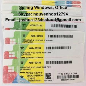 Wholesale organic instant: 32/64b License Microsoft Windows 10 Enteprise/ LTSB /LTSC/Education/Pro/ Home Software