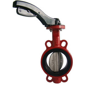 Wholesale stainless steel butterfly valve: Pneumatic Actuator Wafer Type Cast Iron Butterfly Valves Stainless Steel Disc Manufacturer