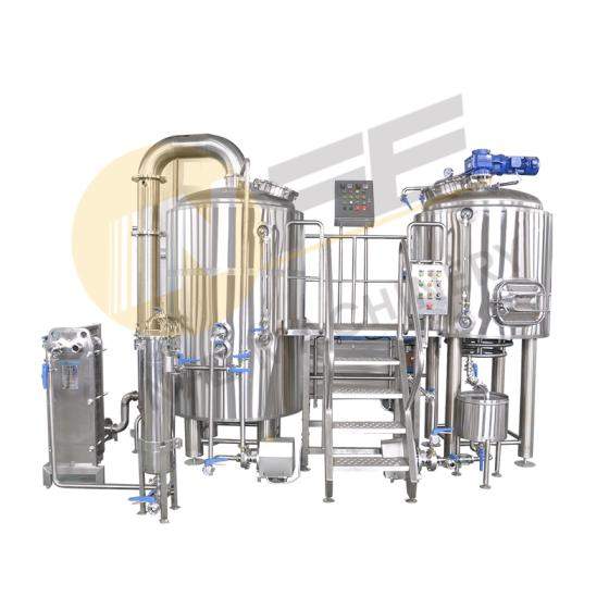 High Quality 7bbl Direct Gas Fired Commercial Stainless Steel Brewery Equipment