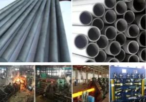 Wholesale carbon pipe: 6 Carbon Alloy Steel Hot Rolled Seamless Pipe Rolling Mill