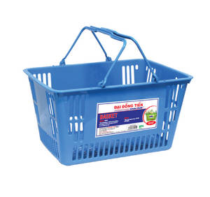 Wholesale Shopping Basket: Plastic Basket