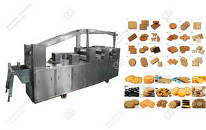 Wholesale cream filling machine: Hot Sale Full Automatic Biscuit Production Line with Capacity of 90kg/H