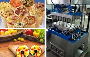 Wholesale pizza machine: Commerical Pizza Cone Making Machine