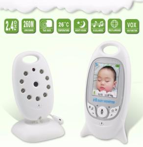 Wholesale ir led: Wireless Video Baby Monitor 2.0 Inch Color Security Camera 2 Way Talk NightVision IR LED Temperature