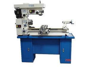 Wholesale vertical turning&milling combination: Multi-Purpose Lathe Mill Combo with Dual Motor