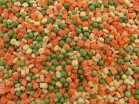 2020 New Crop IQF Frozen Mixed Vegetables with Frozen Peas Sweet Corn Carrot Dices Green Bean