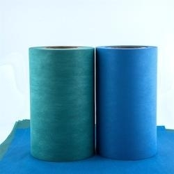 Wholesale breathable film production: Manufacture Hot Selling PE Film Laminated Spunlace with Glue