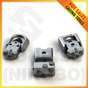 Wholesale foundation case: Foundation Drilling Tools Casing Teeth Welding Bars Quick Change Replaceable Weld On Blocks