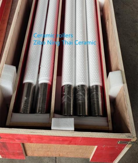 Sell Fused Silica Ceramic Roller Used In Glass Tempering Furnace