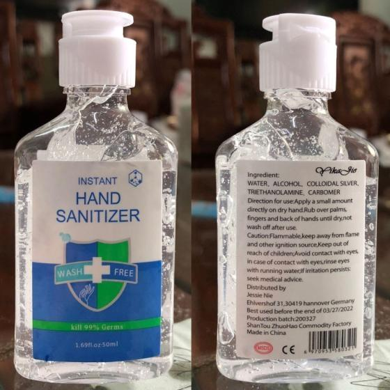 Sell Disinfectant Hand Sanitizer Gel and Spray Kills 99.9 % Germs