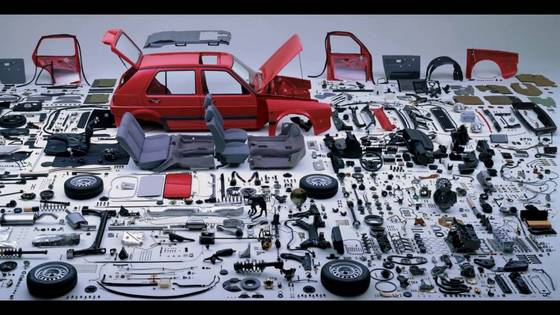 Sell Used Aluminum die cast auto spare parts
