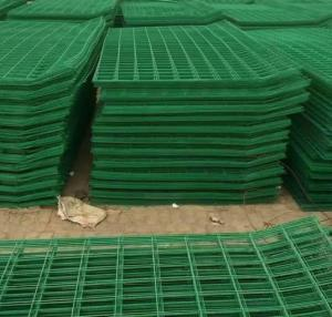 Wholesale wire mesh: 3D Curved Sshape High Security Fence System Railway Metal Wire Fence   3D Wire Mesh Fence for Sale