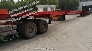 Wholesale flange dimension: 20/30/50m Wind Turbine Blade Extendable Trailer for Sale