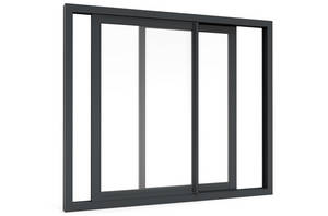Wholesale aluminum sliding glass windows: Aluminum Profiles Sliding Windows and Door with Double Glass Factory in Guangzhou