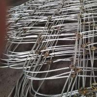 Sell High Tensile Flexible Wire Rope Net For Slope Stabilization