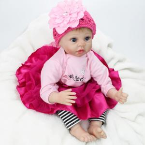 Wholesale Dolls: Real Looking 22 Inch Life Size Newborn Baby Love Doll Silicone Handmade
