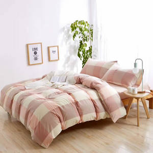 Wholesale bedding set: 100% Washed Cotton Bedding Set