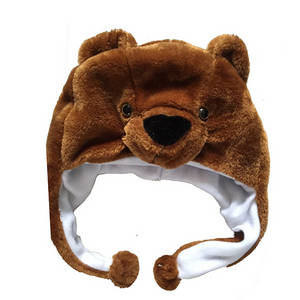 Wholesale Winter Hats: Warm Soft Kids Funny Animal Plush Winter Hats