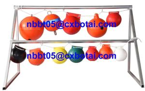 Wholesale floating ball: Customizable HDPE Plastic Floating Ball Buoy for Area Marking (FQ-250)