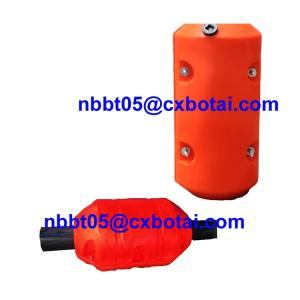 Wholesale filling line: HDPE Foam Filled Assembled Buoy Floats for Dredging Pipe Line