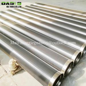 Wholesale galvanized filter end cap: SUS304 316L Stainless Steel Johnson Strainer Well Screen