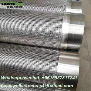 Wholesale well drilling: 7inch Johnson Screens/Water Well Screens for Well Drilling
