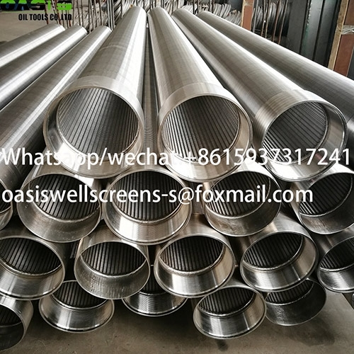 Sell 304L stainless steel V wire shape Johnson screens