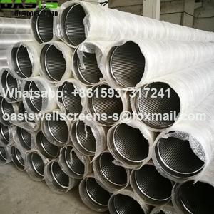 Wholesale steel screen: Stainless Steel Water Well Screens/Johnson Screens for Water Well Drilling