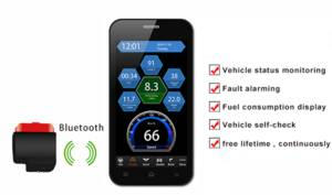 Wholesale bluetooth scanner: Smart Phone IOBD B341 / B342 Android IOS Mini Car Trip Computer Scanner OBDII Via Bluetooth