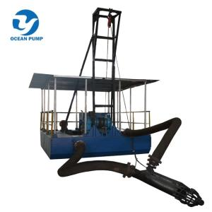 Wholesale pick place machine china: Portable Simple Mini River Lake Sand Suction Dredger