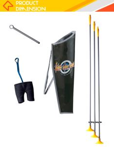 Wholesale outdoor sports bag: Indoor Shooting Target Game Professional Bow and Arrow Set for Kids