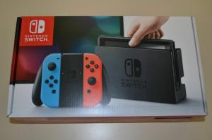 Wholesale switches: Nintendo Switch Console with Neon Red/Blue Joy-Con
