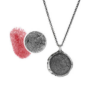 Wholesale Necklaces: Fingerprint Jewelry