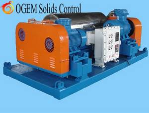 Wholesale drilling fluids: Drilling Fluid Solids Control Decanter Centrifuge