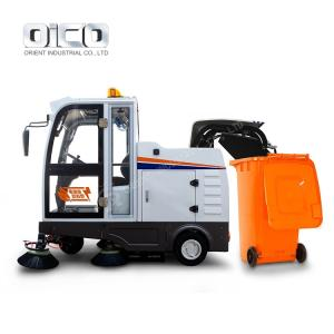 Wholesale mini sand blaster: OR-E800LD Self-Discharging Enclosed Sweeper