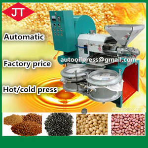 Wholesale sesame machine: Factory Price Edible Hot/Cold Screw Oil Press Machine for Sesame,Corn,Sunflower,Flax,Vegetable Seeds