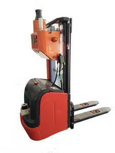 Wholesale electric lift truck for sale: Best Selling Electric Autonomous Stacker Forklift AGV