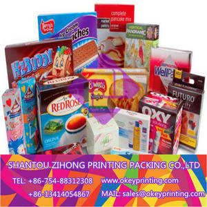 Wholesale Paper Boxes: Printing Food Packaging Box