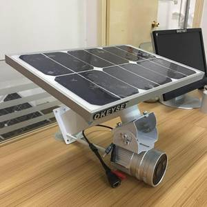 Wholesale night vision googles: Solar Power Wireless IP Camera