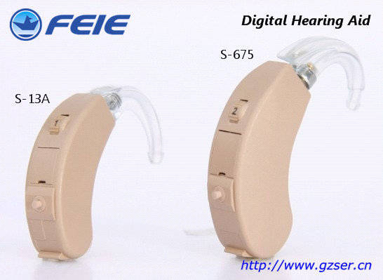 Sell 4 Channels Fully Digital, Programmable Hearing Aids FEIE S-675, S-13A