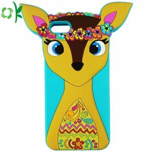 Wholesale Digital Gear & Camera Bags: Customized Design 3D Silicone Cartoon Phone Case