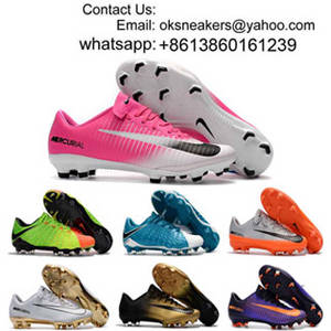 Wholesale kid shoes: Wholesale Hypervenom Phantom Low Cut Soccer Boots Mens Kid CR7 Superflys Magista Obra Football Shoes